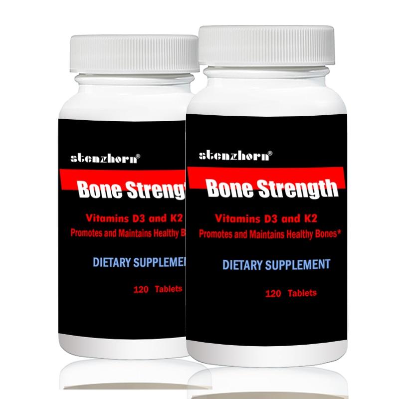 Vitamin D3 5000IU K2 100mcg 120pcs X2B Altogether 240pcs Multivitamins Bone Strength Multi Vitamins  Strength General Health