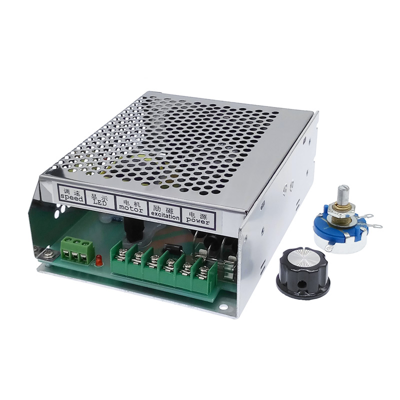 DC 0V-110V WK611 6A Speed Regulator PWM  for DC PM Motor Control Power Supply Suitable for dc spindle motor 220VAC inputDC 0V-110V WK611 6A Speed Regulator PWM  for DC PM Motor Control Power Supply Suitable for dc spindle motor 220VAC input