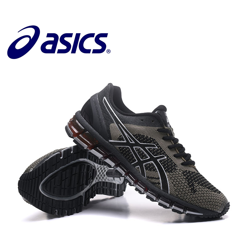 ASICS GEL-QUANTUM360 2018 Hot Sale Man's Asics GEL Stability Running Shoes New Non-slip Shoes Outdoor Sneakers 4pcs set hand tap hex shank hss screw spiral point thread metric plug drill bits m3 m4 m5 m6 hand tools