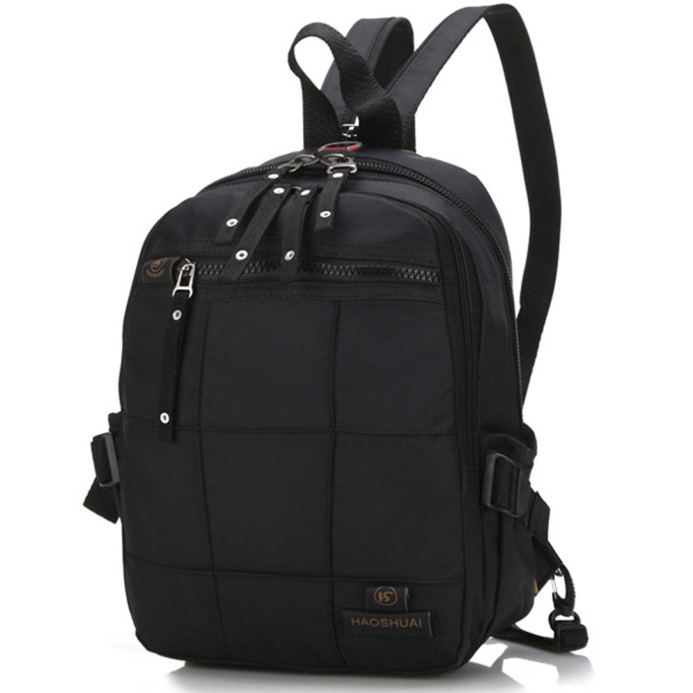 New Men Nylon Shoulders Backpack Travel Bag Backpacks Student School Bag Somputer Laptop Rucksack 2017 new masked rider laptop backpack bags cosplay animg kamen rider shoulders school student bag travel men and women backpacks
