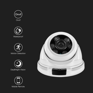 Image 2 - AZISHN バンダルメタル H.265 25FPS 3MP 2048*1536 セキュリティ IP カメラ onvif IP66 RTSP P2P XMEye ネットワーク CCTV 屋内 /屋外