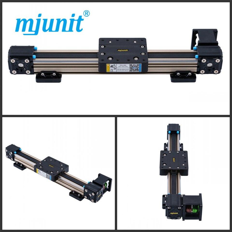 mjunit MJ40 mini linear actuator with 2500mm stroke mjunit mj40 miniature linear guideway with 400mm stroke