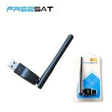 Freesat V7/V8 VRT5370 Wi-Fi Беспроводной USB с Телевизионные антенны lan адаптер для Openbox V8S S-V6 V7 V8 комбо V7 MAX V8 супер V8 золотой