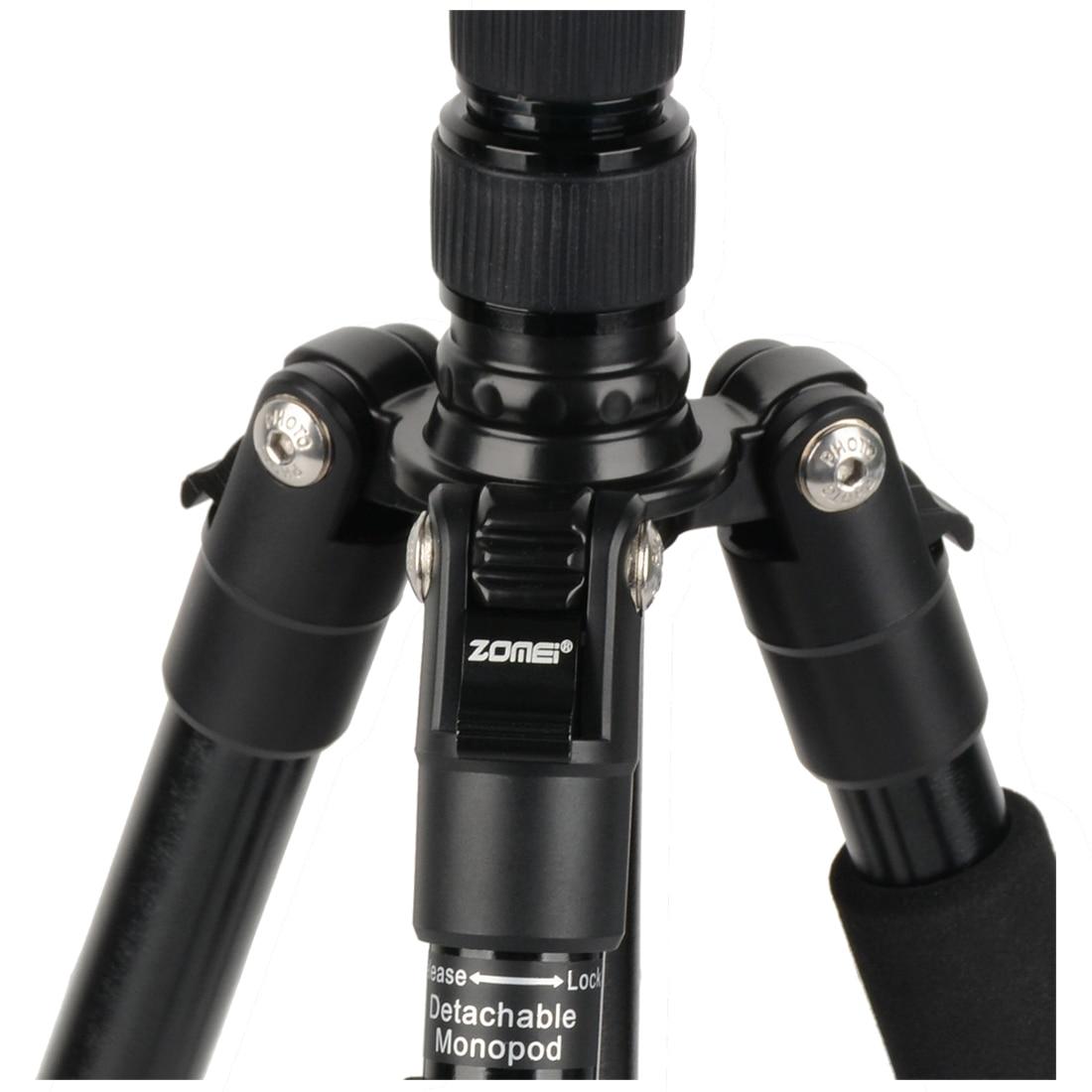ZOMEi Q666 Profesionální cestovní fotoaparát Tripod Monopod - Videokamery a fotoaparáty - Fotografie 6
