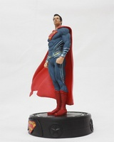 DC Comics Justice League Action Figures Superman Figure LED Light Superman Action Figure Doll Toys for Chirldren 25cm