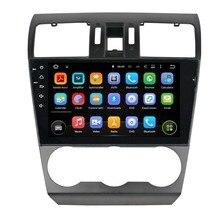 Fit for Subaru Forester 2014 2015  deckless 9″ w/o dvd android 5.1.1 HD 1024*600 car dvd player gps autoradio 3G wifi dvr navi