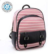Школьные сумки для девочек женщин небольшой рюкзак kanken полосатый школьный детские холст печати sac dos женский мини-рюкзаки