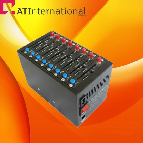 Lowest price wavecom gsm GPRS gate way 8 ports modem pool Q2403