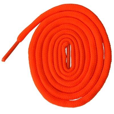 200 см очень длинные круглые шнурки Шнуры Веревки для ботинок martin спортивная обувь - Цвет: 8 neon orange