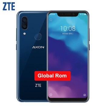 Купить Оригинальный Смартфон ZTE Axon 9 Pro IP68 Водонепроницаемый телефон 6,21 дюйма 8 ГБ ОЗУ 256 Гб ПЗУ Восьмиядерный Snapdragon 845 4000 мАч NFC