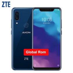 Оригинальный ZTE Axon 9 Pro IP68 водонепроницаемый мобильный телефон 6,21 дюймов 8 ГБ ОЗУ 256 Гб ПЗУ Восьмиядерный Snapdragon 845 4000 мАч NFC Смартфон