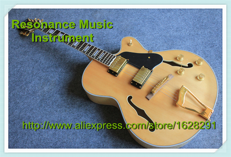 все цены на Top Selling Natural Wood L5 Custom Jazz Electric Guitar China OEM Hollow Body Guitar Left Handed Custom Available в интернете