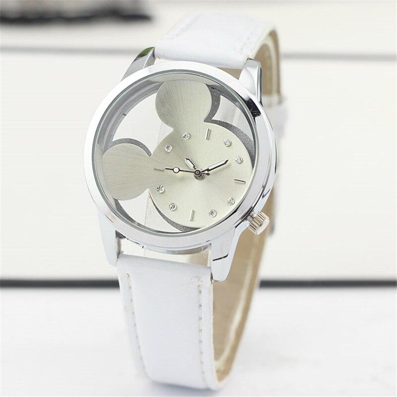 Women Watch Gray cat pattern Leather Quartz Watch Women Watches Lovers Unisex Casual Ladies Wrist Watch 2019 Clock Relogio Femin