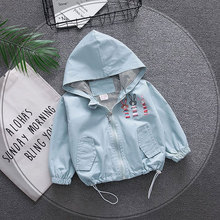Spring newborn baby boys girls baby clothes outfits hooded w