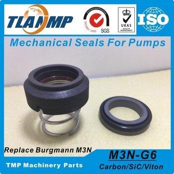 M3N-25 (M3N/25-G6) Burgmann Mechanical Seal untuk Cetakan Pengontrol Suhu (Poros Ukuran: 25 Mm) CA/SIC/Viton