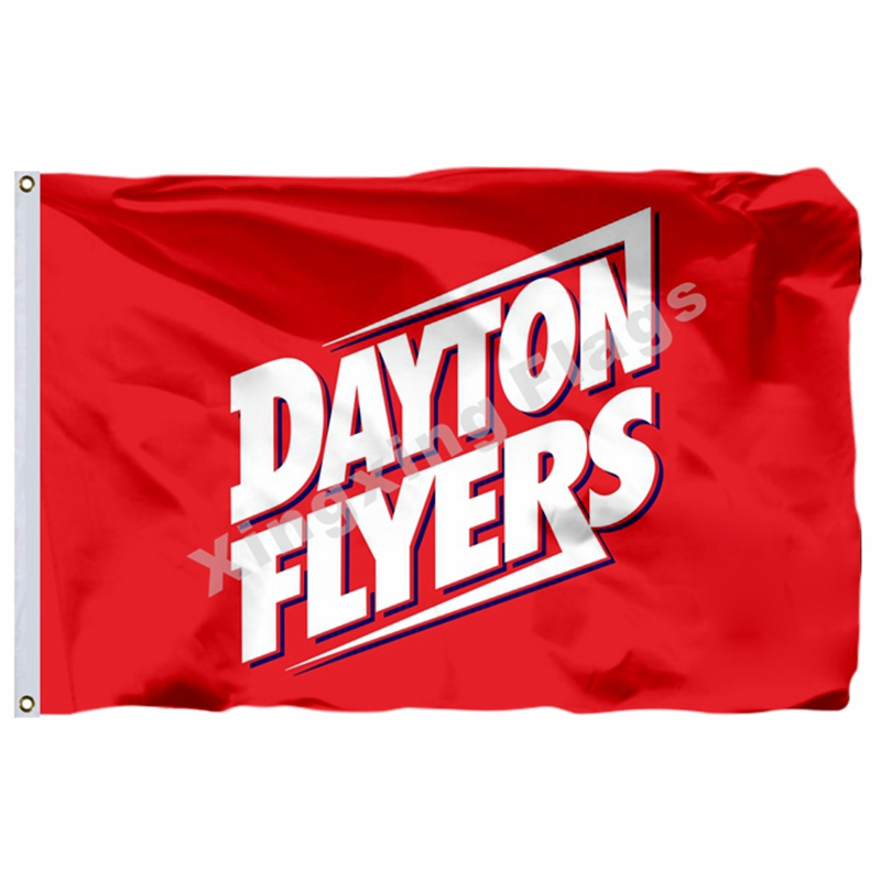 Hot Sale Dayton Flyers Flag 3ft X 5ft Polyester NCAA Dayton Flyers