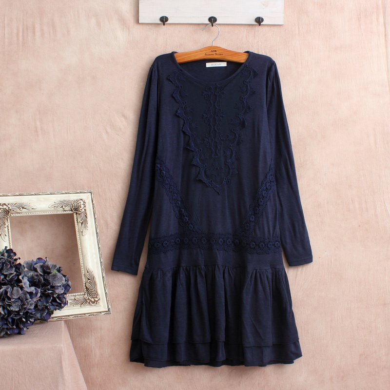 patchwork linen long sleeve hippie boho robe de soiree courte plus size mori girl robes femmes. Black Bedroom Furniture Sets. Home Design Ideas