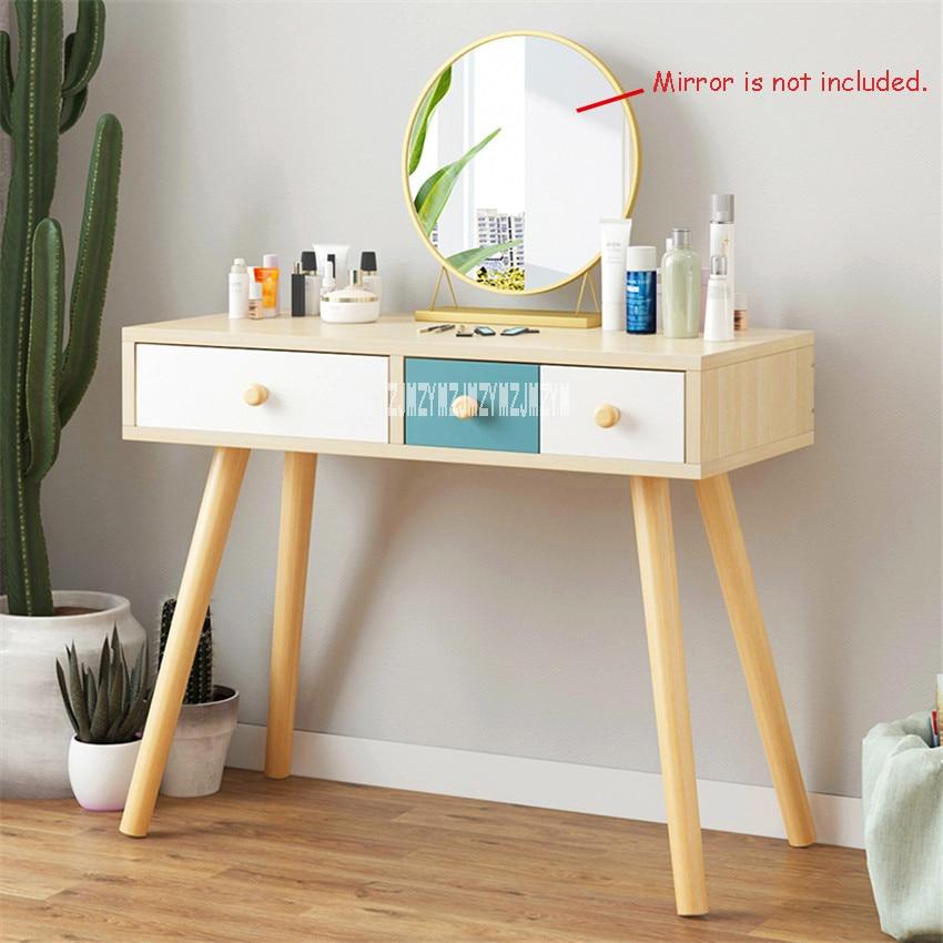 B2507 мебель для спальни современный комод ручной работы доска твердой древесины ноги туалетный столик креативный туалетный столик с ящиком - 3