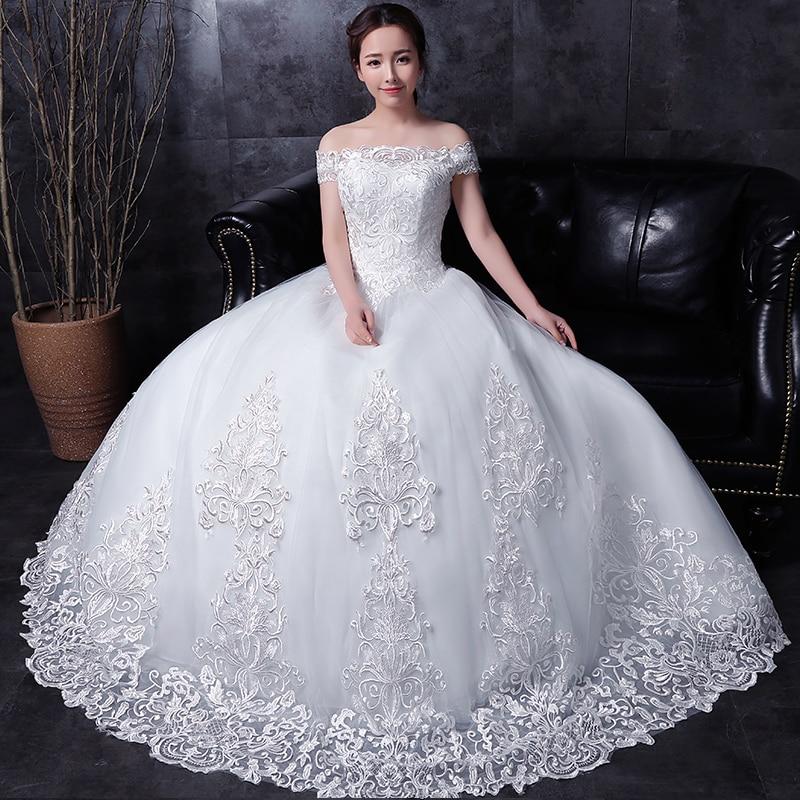 lång halva ärm muslim spets bröllopsklänning högkvalitativ 2016 - Bröllopsklänningar - Foto 3