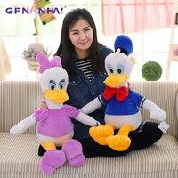1Pcs 70cm Stuffed Dolls Donald Duck Daisy Duck Kids toy baby Gift Plush Toys High Quality