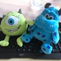 1pc 20cm Monsters Inc Monsters University Monster Mike Wazowski or James P. Sullivan Plush Toy for Kids Gift
