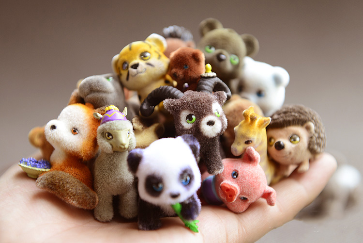 Japan Original Bulks 400pcs Pets Animals In My Pocket Little Jungle