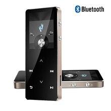 Bluetooth HIFI Reproductor MP3 8G MP3 Pantalla Táctil Multi-idioma Podómetro grabador de E-Book Soporta tarjetas TF de hasta 128 GB Envío nave