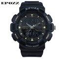 Epozz G Style Men's sport watch digital analog outdoor Wristwatch Rubber band swimming waterproof 50m erkek kol saati E1605