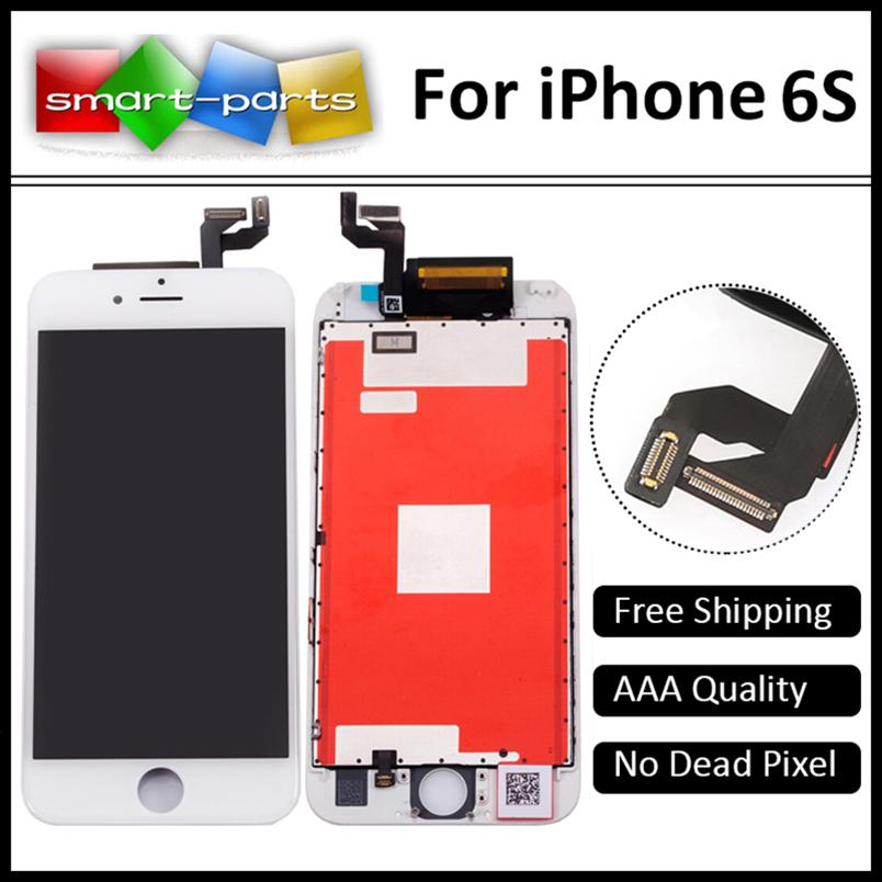 Prix pour Super haute qualité lcd affichage pour iphone 6s assemblée d'affichage écran de remplacement avec digitizer, 4.7 pouce 3d tactile