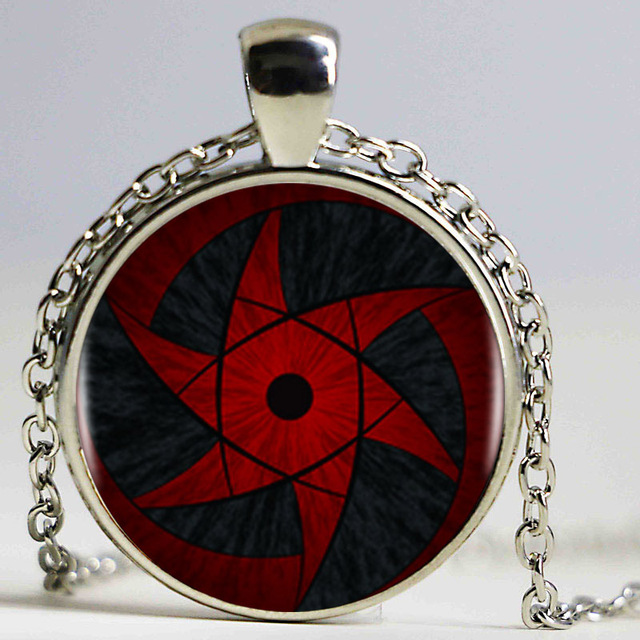 Sharingan Shippuuden Eyes Pendant Necklace For Women
