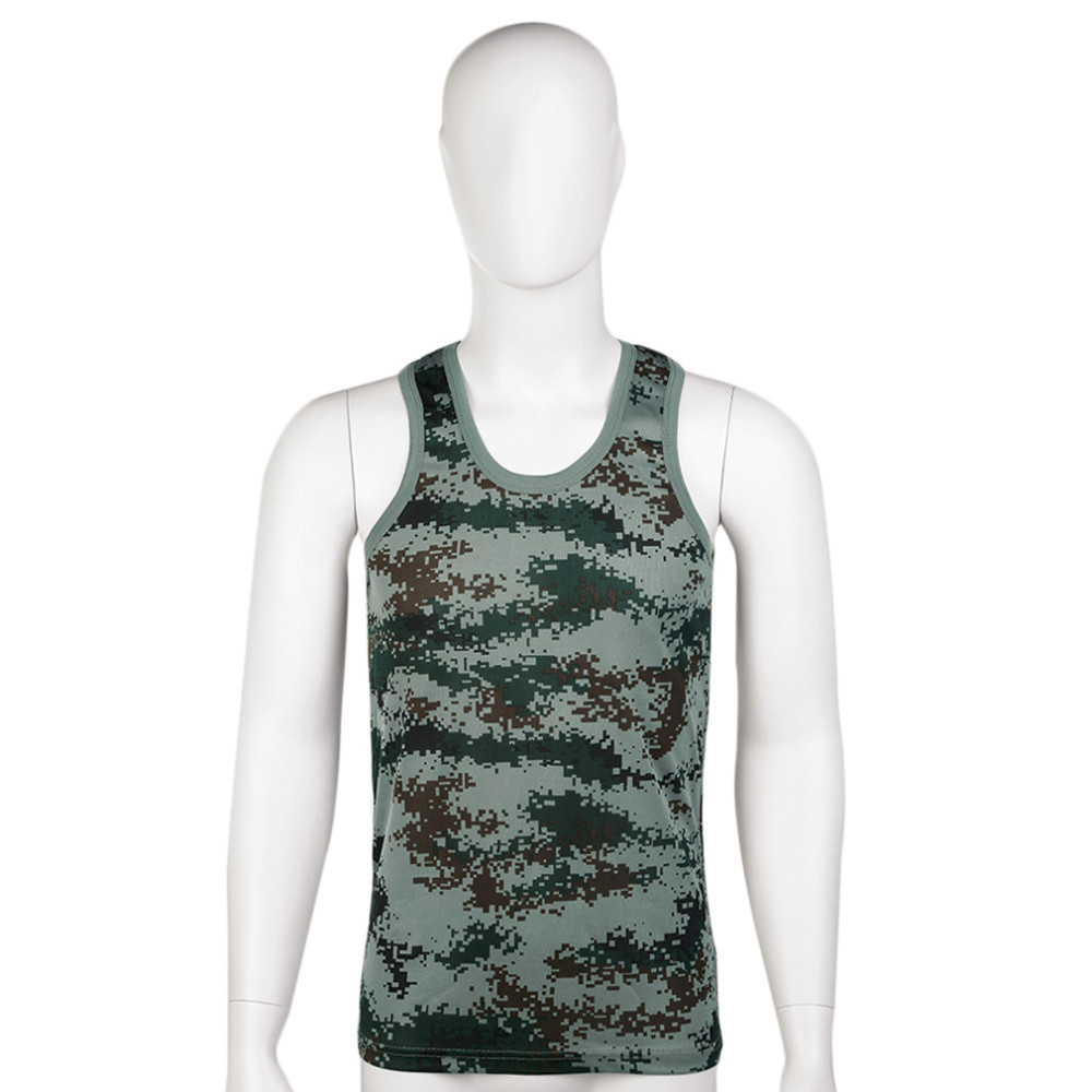 4e638543f1d33 2016 Gilets de Course Militaire Style Hommes Gilet Camouflage ...