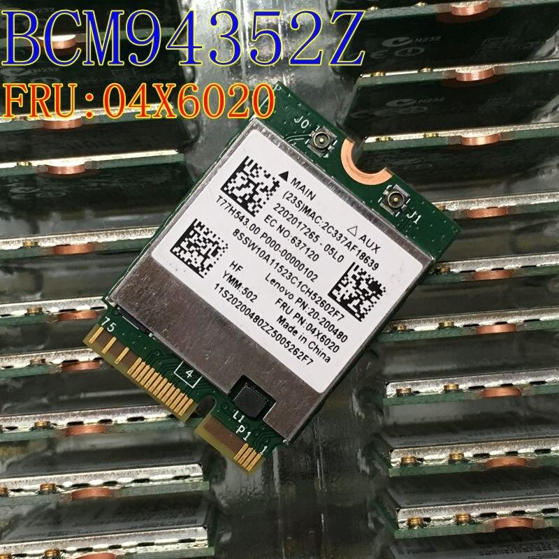 PCM94352Z BCM94352 FRU: 04X6020 NGFF 867Mbps Bluetooth 4.0 Wlan - חומרה ברשת