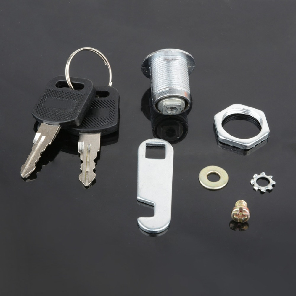 5 set 20mm Cabinet Cam Lock Mail Box File Cabinet Desk Drawer Lock with 10 Keys Furniture Lock Cabinet Tool