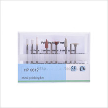 Good Quality 1 set Dental Porcelain Teeth Composite Polishing Kits HP0612 Polisher for Low Speed Handpiece