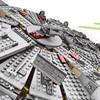 LOZ 1381pcs Star Wars Model Building Blocks Millennium Falcon Figure Compatible With Legoinglys Star Wars Gift