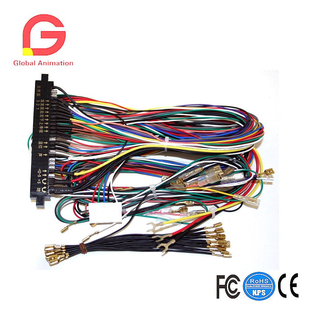 Jamma Board Standard Cabinet Wiring Harness Loom For Jamma Multigame Boards