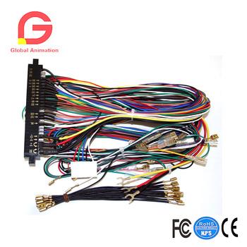 Jamma Board standardowe kable w wiązce do tablic Jamma Multigame tanie i dobre opinie Lalka maszyny 8 lat X009