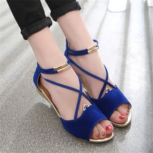 Women Flats Ankle-Strap Sandals