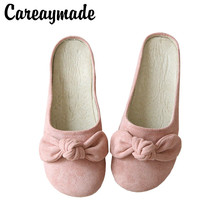 Careaymade-Literary and Art Retro Butterfly Flat-soled Shoes New Soft-soled Comfortable Leisure Womens Slipper in Summer 2019