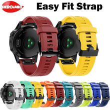 22mm Quick Release Easy Fit Watch Strap For Garmin Fenix 5/5 Plus men's watches women's bracelet For Garmin Forerunner 945/935