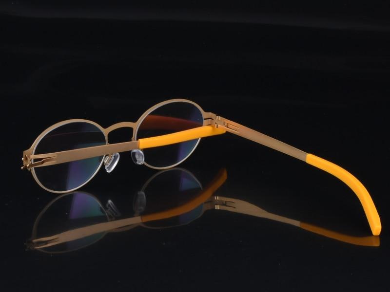 Personnalité créative lunettes de vue cadre hommes lunettes - Accessoires pour vêtements - Photo 5