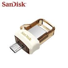 SanDisk – clé USB 3.0 double OTG SDDD3 Extreme, support à mémoire de 32GB 64GB 32GB, haute vitesse 150 M/s, lecteur Flash doré