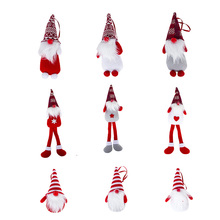 1Pc Merry Christmas Santa Claus Pendant Ornaments Christmas Tree Decoration