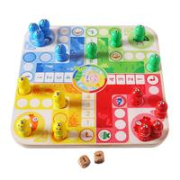 Wooden 2 in 1 Magnetic Fishing Board Game Early Education Toys Magnetic Fishing Wooden Puzzle Toy Gift