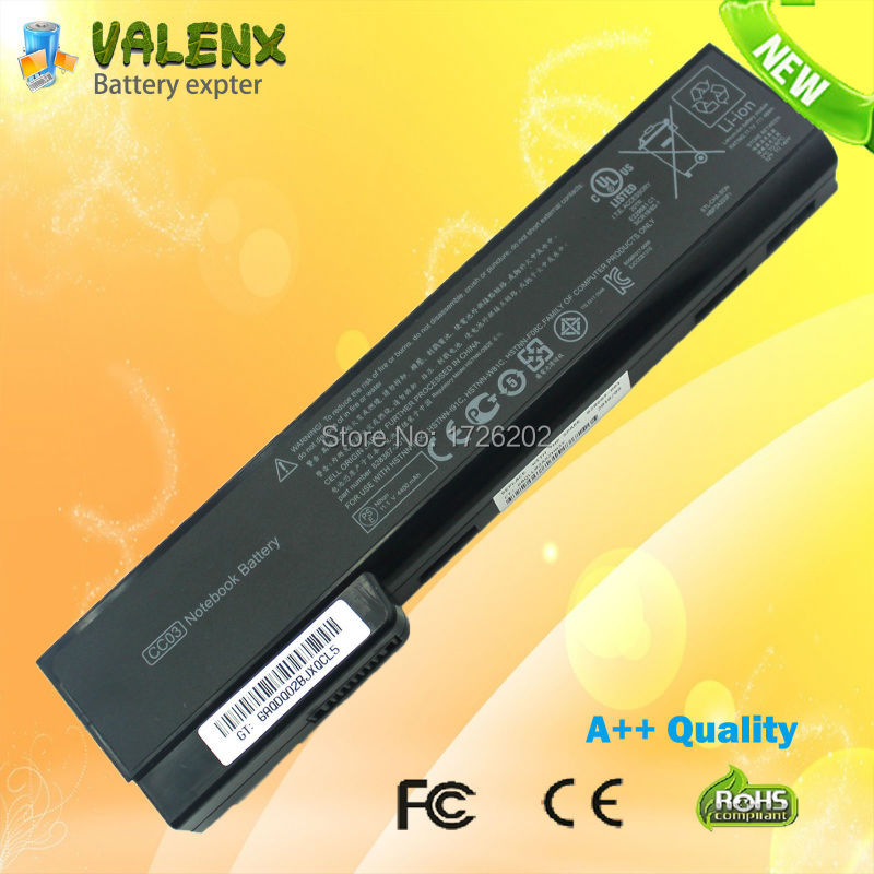 LAPTOP Battery for HP EliteBook 8460p 8460w 8470p 8470w 8560p <font><b>8570p</b></font> FOR ProBook 6360b 6460b 6465b 6470b 6475b 6560b 6565b 6570b image