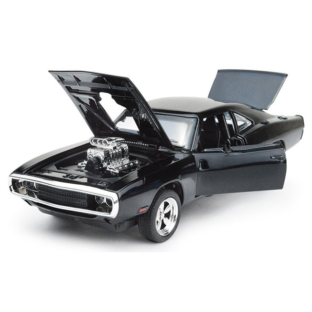 1 32 The Fast Furious 7 Dodge Charger Alloy Cast Models Car Brinquedos Metal Clical Model Cars Oyuncak Toys Jhty048