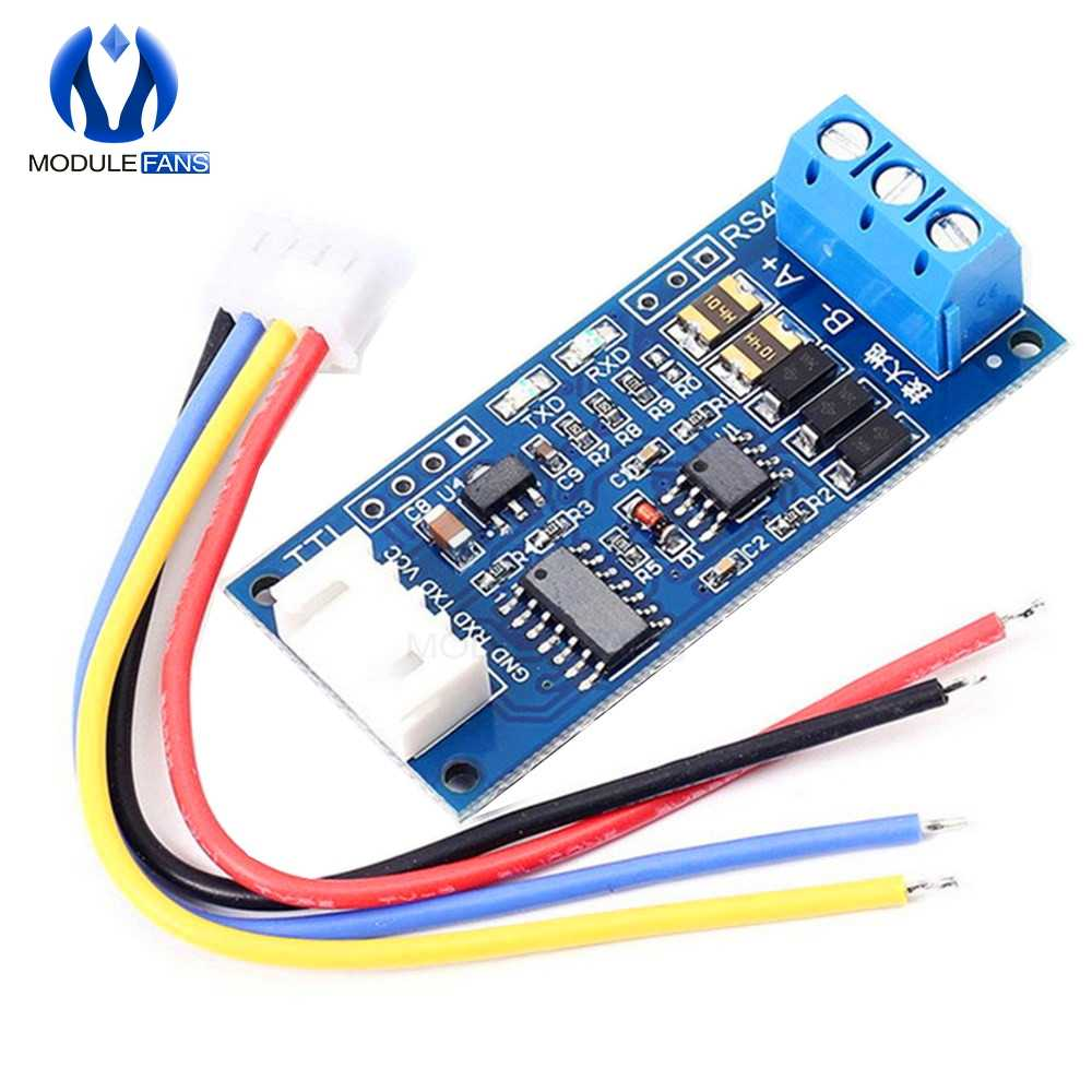 TTL to RS485 Power Supply Converter Board 3.3V 5V Hardware Auto Control Module For Arduino AVR Wide Voltage Singal Indicator