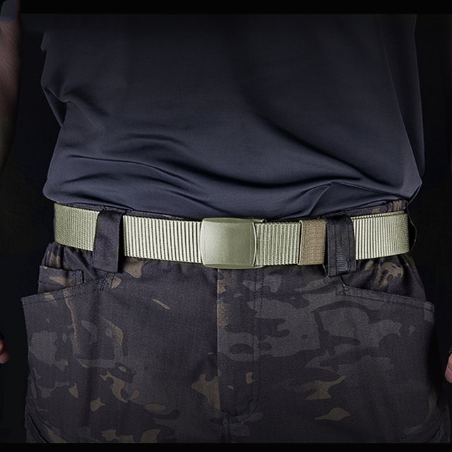 FREE SOLDIER outdoor multi-functional tactical belt breathable wear canvas belt casual special training nylon belt 2