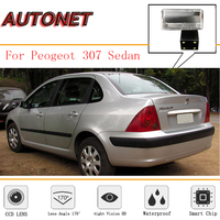 AUTONET Rear View Camera For Peugeot 307 SW Sedan Peugeot 407 CCD/ Backup Parking Camera/ Night Vision/ License Plate camera