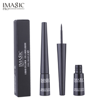 IMAGIC Eyeliner Waterproof Liquid Type Makeup Eye Liner Nature Lasting For Women Beauty Cosmetics Black eyeliner 1pcs